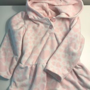 Girls heart pullover